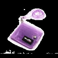 محفظة شفافة باللون البنفسجي-40539