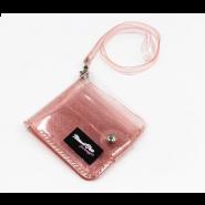 محفظة شفافة باللون الاحمر-40540