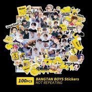 ستيكر BTS ( BUTTER - 100 قطعة)