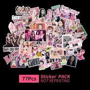 ستيكر BLACKPINK  ( BP - 77 قطعة)